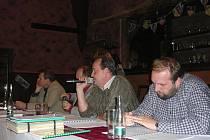 Schůze v Klokočí ohledně biostanice, která má v obci vzniknout