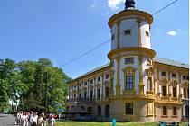 Linhartovský zámek, kde Josefa B. z Přerova žila.