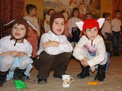 Vánoční vystoupení v Bezuchově se všem líbilo.
