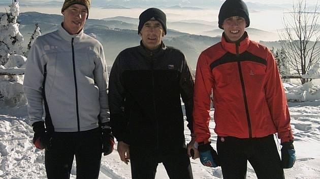Zleva: Tomáš Gladiš, Roman Baláž a František Haitl.