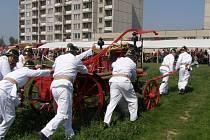 Hasičské oslavy v Kokorách
