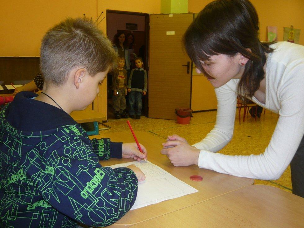V hranických Základních školách probíhal v pátek 23. ledna zápis do 1. tříd.