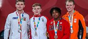 O obrovský úspěch se postaral odchovanec Judo Železo Hranice Martin Bezděk (vlevo). Z olympiády mládeže v Buenos Aires veze stříbrnou medaili.