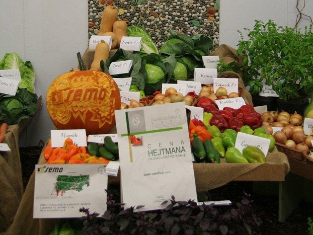 Expozice zelinářské firmy Semo Smržice sklidila na poslední výstavě Flora ocenění.