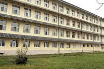 Solární panely na hranické nemocnici