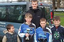 Pět kluků z hranického oddílu BMX sbírá úspěchy jeden za druhým