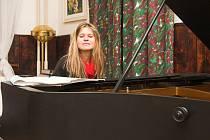 Ladislava Jančová hrála vlastní skladby.