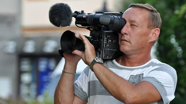 Hranický kameraman Vlastimil Mach