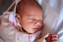 Eliška Beková, Kozlovice, narozena 5. dubna 2011 v Přerově, míra 48 cm, váha 3 630 g