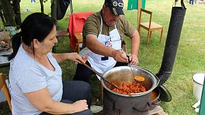 Soutěž O Zlatou vařečku 2019 ve vaření kotlíkového guláše ve Skaličce