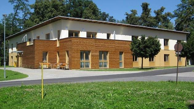 Nový pavilon Domova Větrný mlýn Skalička