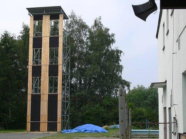 Hasičská cvičná věž v Hranicích