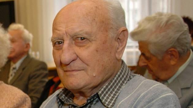 Válečný hrdina Zdeněk Škarvada.