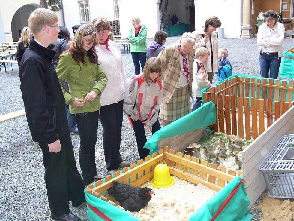 Velikonoční jarmark na zámku v Hustopečích nad Bečvou