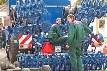 Ve středu 16. května vrcholily na přerovském Výstavišti intenzivní přípravy na čtyřdenní zemědělskou výstavu.