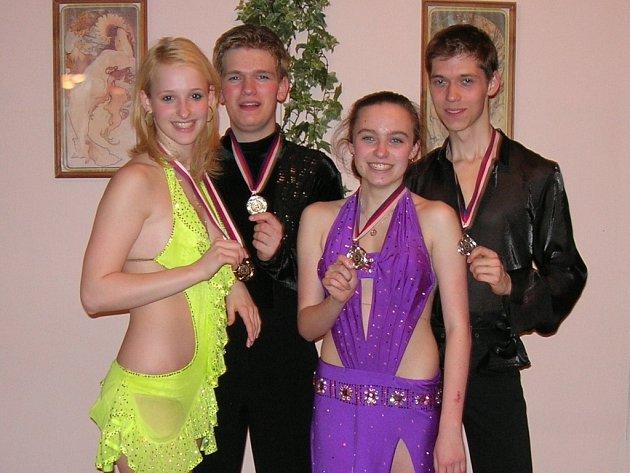 Hranické páry obsadily druhé a třetí místo.