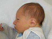 Josef Váňa, Přerov, narozen dne 24. září v Přerově, míra: 51 cm, váha: 3410 g