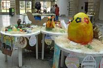 Výstava toho nejlepšího ze soutěže Velikonoční motivy ve dvoraně hranického zámku