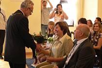Zlatá svatba manželů Jemelkových