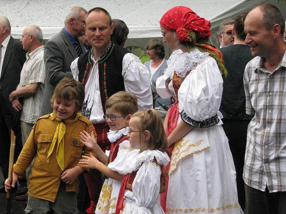 Oslavy v Brodku u Přerova