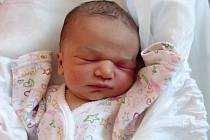 Zoe Dočkalová, Všechovice, narozena dne 19. května 2014 v Přerově, míra: 50 cm, váha: 3 262 g