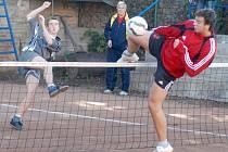 Spoustu atraktivních soubojů na síti viděli diváci ve finálové odvetě juniorské extraligy.