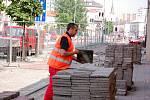 V Komenského ulici v Přerově začala oprava parovodu, která potrvá až do konce září.
