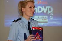 Nové filmy představila přerovská policejní mluvčí Michaela Sedláčková.
