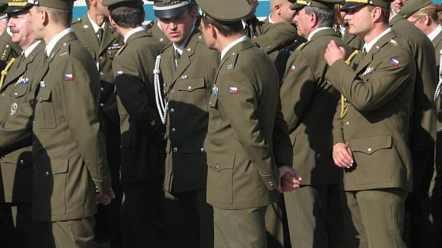 Vojáci v Hranicích. Ilustrační foto