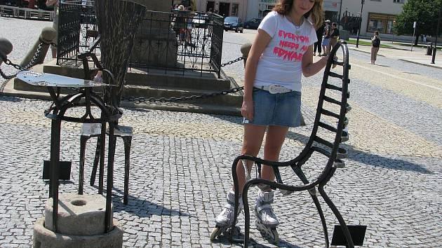 Na třicet kovaných děl můžou obdivovat návštěvníci Lipníku nad Bečvou