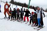 Maškarní rej a vyhlášení vítězů ve Ski areálu Potštát