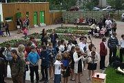 Otevření zrekonstruované zámecké zahrady v Hranicích