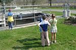 Kroužek Majáček při Základní škole 1. máje v Hranicích se vydal na exkurzi do čistírny odpadních vod.