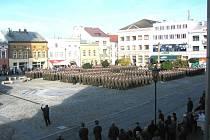 Oslavy 20. výročí vzniku 7. mechanizované brigády v Hranicích