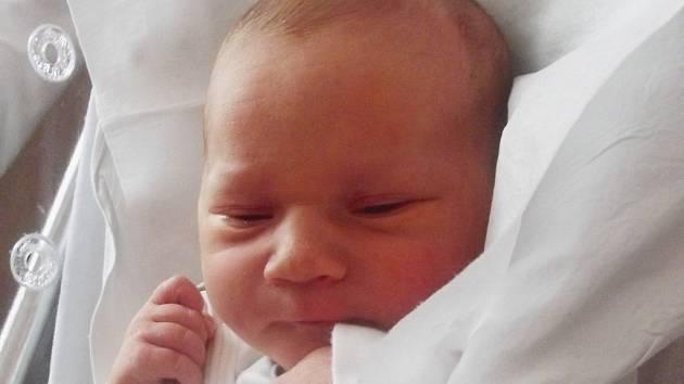 Milan Rubeš, Bystřice pod Hostýnem, narozen dne 9. ledna 2014 v Přerově, míra: 54 cm, váha: 3 540 g