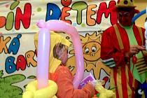 Otevření kolonády v Teplicích nad Bečvou nabídlo i vystoupení klauna Hopsalína