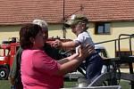 Oslavy osmdesáti let od založení Sboru dobrovolných hasičů v Horním Újezdu.