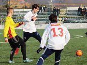 Fotbalisté Ústí v přípravě proti Kozlovicím