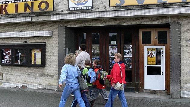 Hranické kino Svět. Ještě jako kino.
