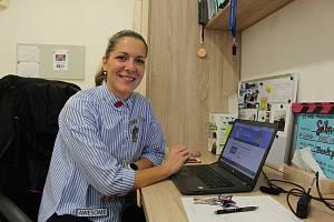 Učitelka a ajťačka ze Základní školy 1. máje Hranice Sabina Macháňová
