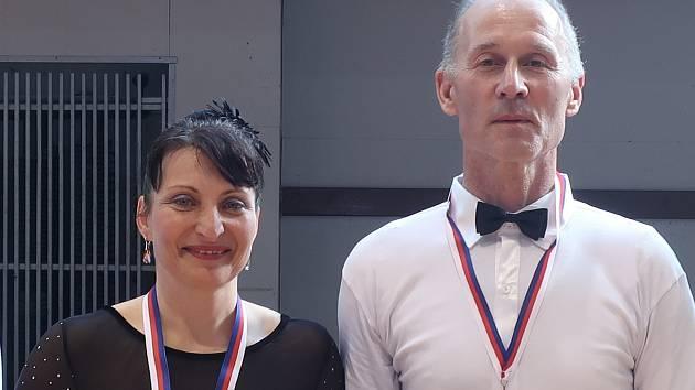Zlatý pár Lenka Svobodová a Miroslav Kubját