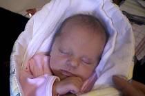 Valerie Kopřivová, narozena 27. května ve Valašském Meziříčí, míra 47 cm, váha 2 900 g
