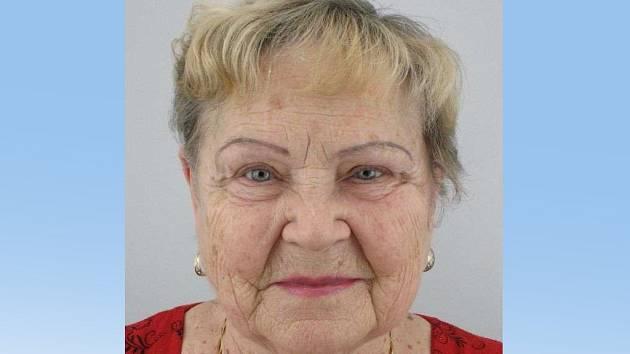 Pohřešovaná Jarmila Slouková