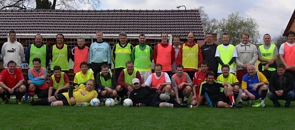 Fotbalové soustředění starostů vÚstí