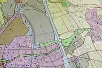 Nový územní plán počítá s vysokorychlostní železniční tratí i s vodním kanálem.