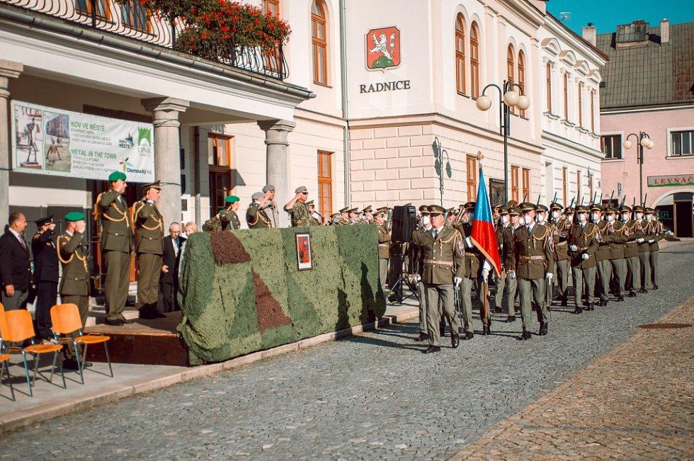 Den otevřených dveří  ve středu 8. září 2021 v Dukelských kasárnách vLipníku nad Bečvou.