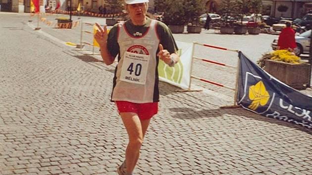 Jiří Březina z SK Přerov má na svém kontě již 481 dokončených klasických maratonů.