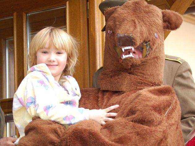 Medvěda se nebojíme...