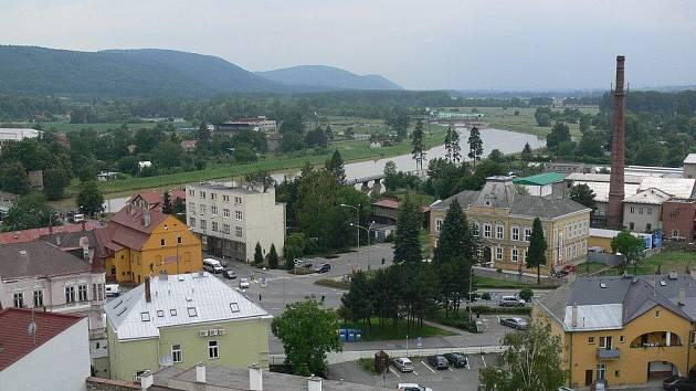 Výhled z radniční věže