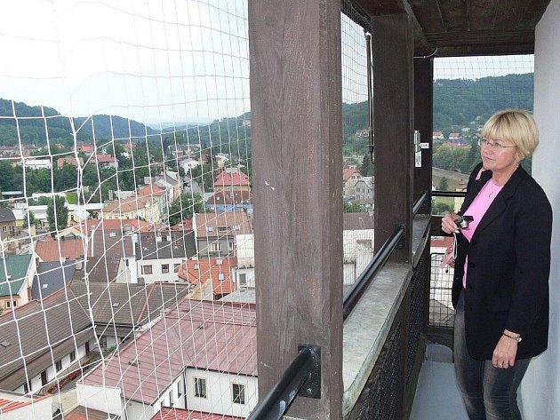 Výhled zradniční věže